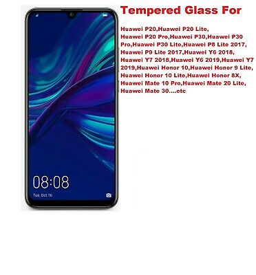 For Huawei P Smart 2019/2018 Genuine Tempered Glass Screen Protector • 2.05£