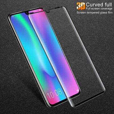 For Huawei P20 P30 Pro Lite Tempered Glass 9D Full Cover Curved Screen Protector • 2.45£