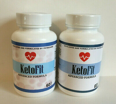 $42.99 • Buy 2X Keto Fit ADVANCED Formula WEIGHT LOSS Capsules ~ Lot Of 2 ~ 60 Caps Each