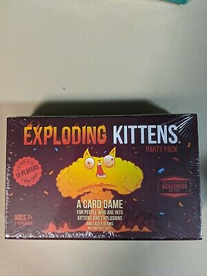 AU85 • Buy Exploding Kittens Party Pack  Play With Up To 10 Players & New Card