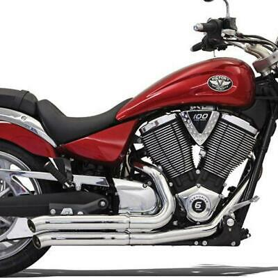 $749.95 • Buy Bassani Pro Street Turn Out Exhaust System Chrome For 06-09 Suzuki M109R SM9-3TO
