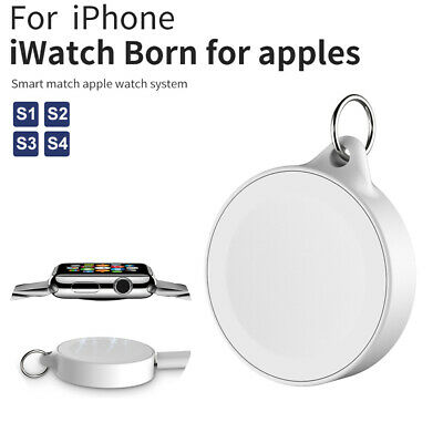 $ CDN7.02 • Buy For Apple Watch IWatch Series 1/2/3/4 Dock Adapter Charging QI Wireless Charger
