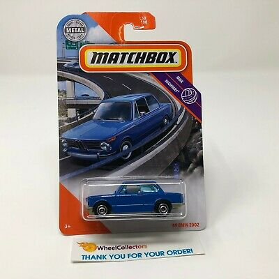 $3.99 • Buy '69 BMW 2002 #50 * BLUE * 2020 Matchbox Case T * S51