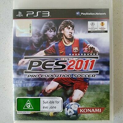 AU9.49 • Buy PS3 Pes Pro Evolution Soccer 2011 Game Free Postage 🎮🕹🎮🕹
