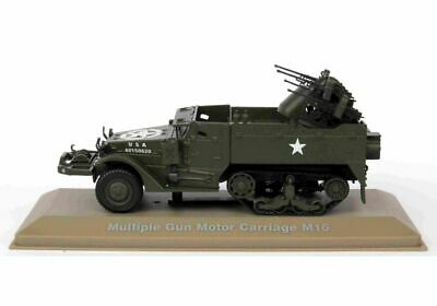 $25.41 • Buy M16 Half Track Multi Gun Vehicle (3rd Armoured Division) In Green (1:43 Scale By