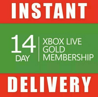 $ CDN10.90 • Buy Xbox Live 14 Day Gold Trial Membership Code (2 Weeks) - Xbox One Only - Instant
