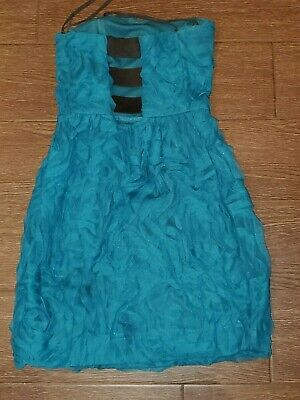 $ CDN52.96 • Buy Ariella Girls Party Dress Size 16, Blue,  Polyester,good Condition