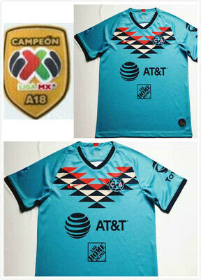 $18.50 • Buy New 2020-2021 Club America Second Away Soccer Jersey .And A18 LIGA MX Patch