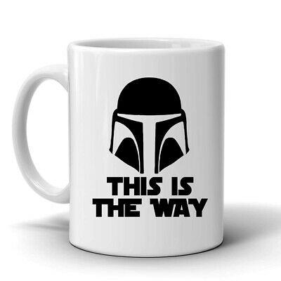 $12.55 • Buy This Is The Way, Baby Yoda 11 Oz Coffee Mug, Star Wars