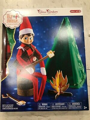 AU18.67 • Buy Elf On The Shelf Campfire Tent Camping Set No Doll Claus Couture