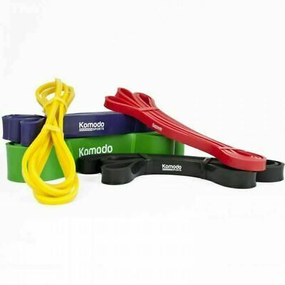 $ CDN23.29 • Buy Resistance Exercise Bands Range Of Thicknesses For Strength And Core Training
