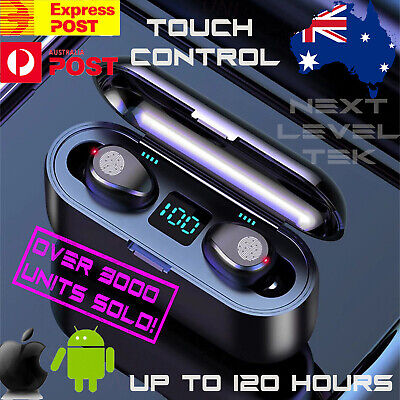 AU32.99 • Buy Wireless Bluetooth Earphones Headphones For Earpods IOS Android Earbuds Sports