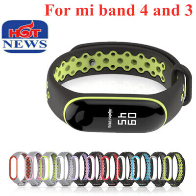$1.99 • Buy Soft Silicone Replacement Strap For Xiaomi Smart Watch Mi Band 4 & 3 M3 M4 Tools