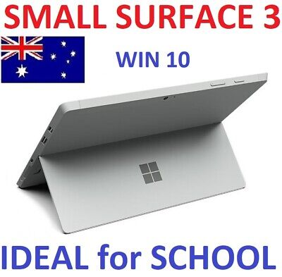 AU435.35 • Buy Microsoft Surface 3 (like A GO) Touch 64/128G SSD BYOD Free Pen & Touch Cover