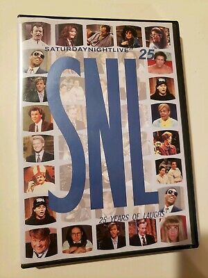$4.99 • Buy Saturday Night Live 25 Years Of Laughs DVD SNL