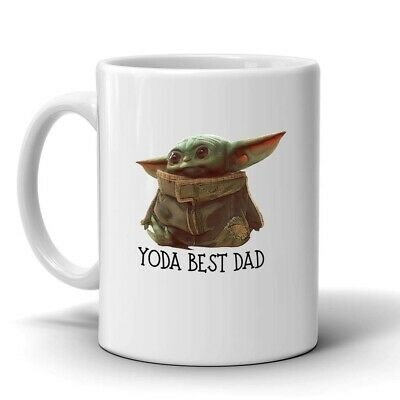 $13.95 • Buy Baby Yoda Yoda Best Dad, Coffee Mug, Fathers Day Gift