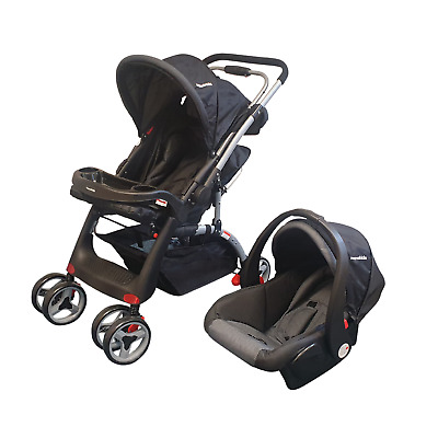 £129.99 • Buy Mamakids 2-in-1 Travel System Stroller Pushchair Pram Buggy With Baby Car Seat