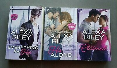 AU28 • Buy ALEXA RILEY**Complete For Her Series**  3 BOOKS  HTF