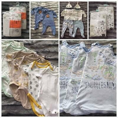 0-3 Months Size TWIN Baby Boys Lot Clothes Up To 5.5 Kg *CREATE YOUR OWN BUNDLE* • 1.50£
