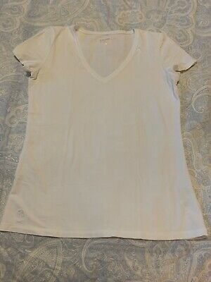$17.50 • Buy *Lilly Pulitzer* Michele Top In Resort White Size Medium
