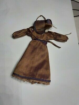 1/12 Dolls House Ladies Regency Dress And Bonnet Hand Made Wearable • 22.99£