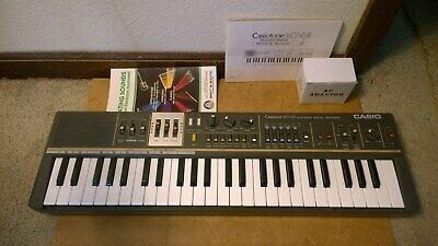 $60 • Buy Vtg CASIO Casiotone MT-68 Electronic Musical Keyboard Synthesizer Tested Works!