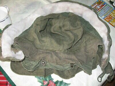 $20 • Buy US Military Winter Hood With Synthetic Fur M 1951