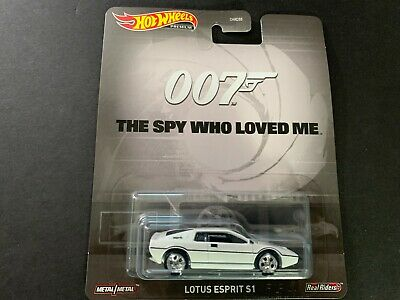 $ CDN6.59 • Buy Hot Wheels Lotus Esprit S1 007 The Spy Who Loved Me James Bond DMC55-956Q 1/64