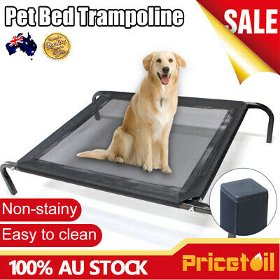 AU39.98 • Buy Large Dog Puppy Cat Pet Bed Trampoline Heavy Duty Frame Hammock Canvas  XL