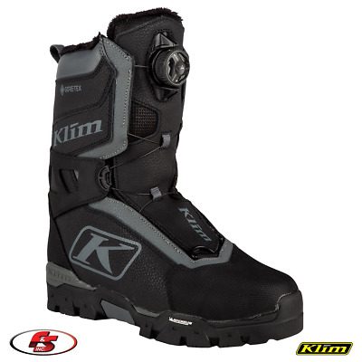 $ CDN396.35 • Buy New 2020 KLIM Aurora GTX BOA Boot - Asphalt - 8 Women's Snowmobile Gore-tex