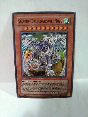 Yu-Gi-Oh Stardust Dragon Assault Mode Holo Rate Ist Ed Dp09-en001 • 1.07£