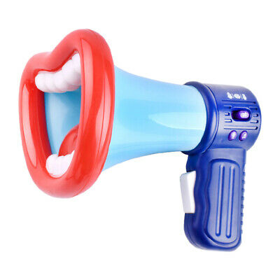 Kids Voice Changer Toy Trumpet Recording Microphone For Children Funny Blue • 8.38£
