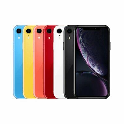 AU489 • Buy Apple IPhone XR 64GB 128GB 256GB - Network Unlocked *All Colours Available*
