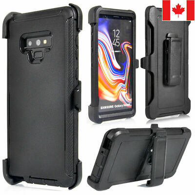 $ CDN7.99 • Buy For Samsung S8 S9 Plus S10 + Case Cover (Clip Fit Otterbox Defender Series)Black