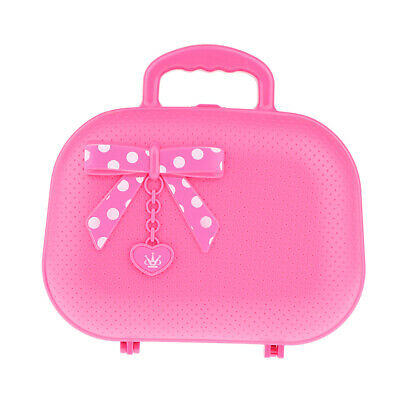 Toy Cosmetic Suitcase For Fairy Girls Pretend Play Makeup Set Birthday Gift • 9.21£