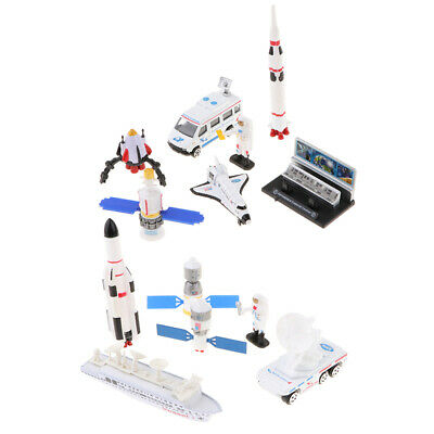 Kids Astronaut Space Shuttle Vehicles Set Space Party Toys And Decorations • 8.17£