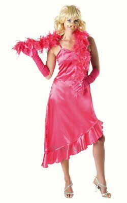 Ladies Miss Piggy Muppets Fancy Dress Costume Pink Outfit 8 10 + WIG NOSE BOA • 29.99£