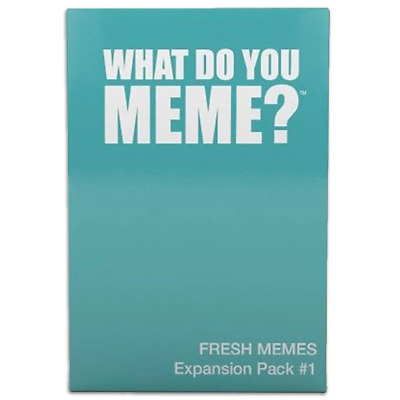 AU25.65 • Buy What Do You Meme? Fresh Memes Expansion Pack 1