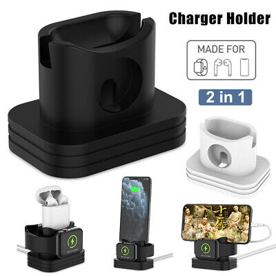 $ CDN6.56 • Buy 2 IN 1 Phone Watch Charging Dock Stand Charger Station For Apple Watch IPhone