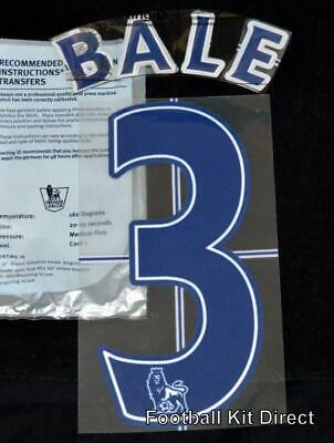 $11.11 • Buy Tottenham Bale 3 Name/Number Set Football Shirt Lextra 07-13 Sporting ID Player