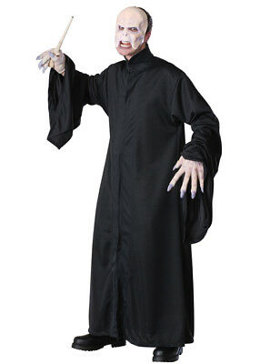 £40.99 • Buy Adult Harry Potter Lord Voldemort Fancy Dress Black Party Costume & Mask