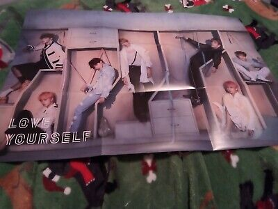 $2 • Buy BTS Love Yourself Answer Folded Poster