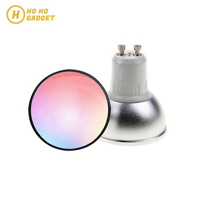 AU24.95 • Buy WIFI Smart RGBW Downlight Dimmable LED Bulb GU10 Google Home Alexa AUS Standard