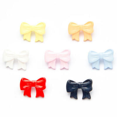 Childrens Bow Shape Button 17mm X 12mm Plastic Shank Novelty Buttons • 1.90£
