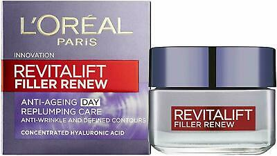 L'Oreal Revitalift FILLER Renew + Hyaluronic Acid Anti-Ageing Day Cream 50ml • 13.50£