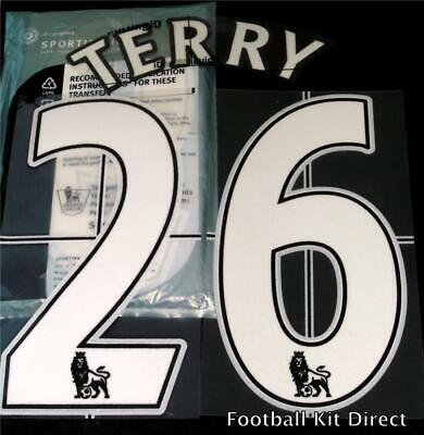 $17.50 • Buy Chelsea Terry 26 Name/Number Set Football Shirt Lextra 07-13 Sporting ID Home