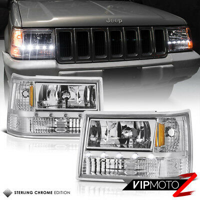 AU177.57 • Buy For 93-98 Jeep Grand Cherokee ZJ 3in1 Signal+Parking+Headlight LED SMD Strip Bar