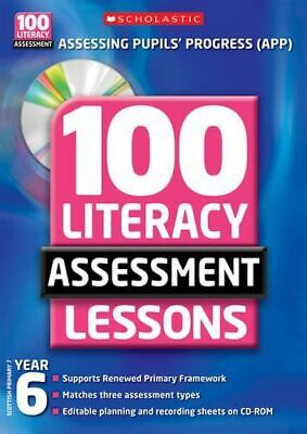 £4 • Buy 100 Literacy Assessment Lessons; Year 6, Alison Milford, Like New, Paperback