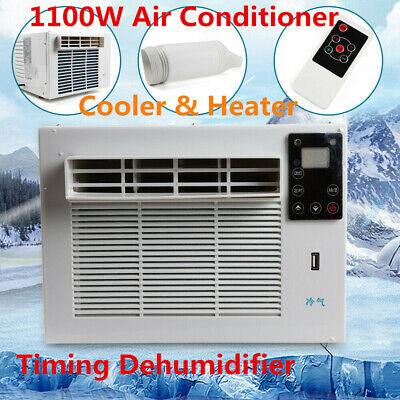 AU285 • Buy 1100W Air Conditioner Cooler Heater Window Refrigerated Cooling Heat White Stock