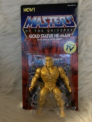 $25 • Buy Motu Collection Masters Of The Universe Super 7 Wave 3 Golden He-man Case Fresh